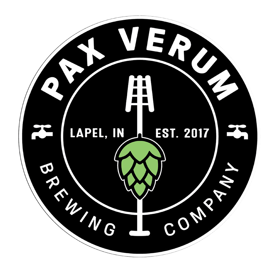 Pax Verum Brewing Company in Lapel. IN Logo